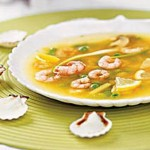 sup s krevetkami