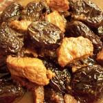Говядина с корицей и черносливом в пароварке
