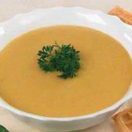 Суп-пюре из моркови и картофеля