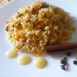 Рис с морковью и перцем халапено
