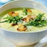 Суп-пюре c картофелем из шампиньонов
