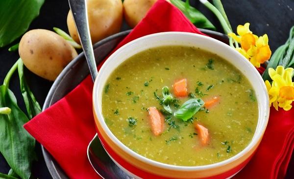 суп-пюре из картофеля и моркови