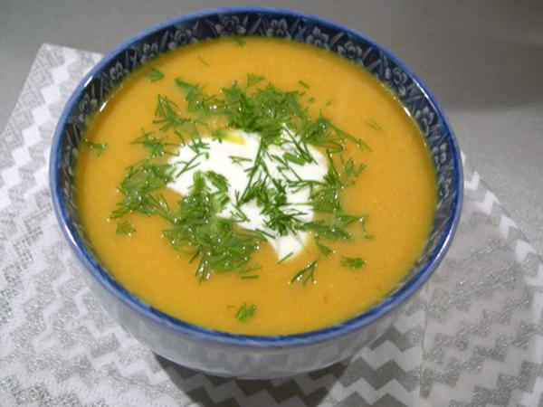суп-пюре из фасоли в блендере