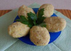 Лечебное меню: паровые рыбные котлеты с картофелем