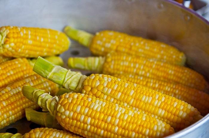 кукуруза в пароварке