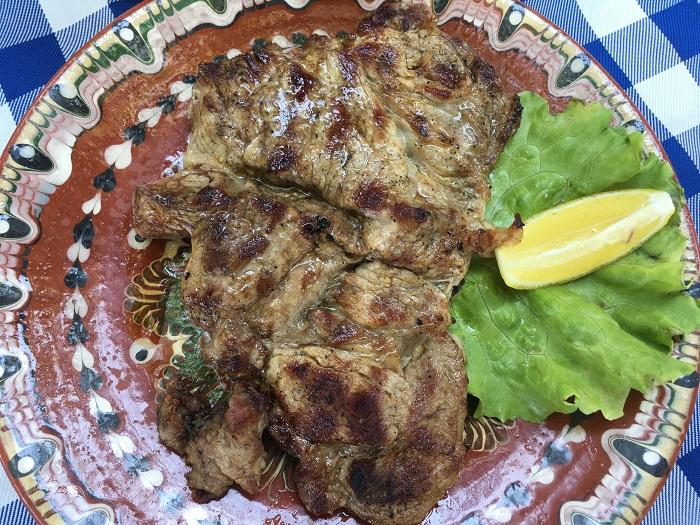 мясо на аэрогриле